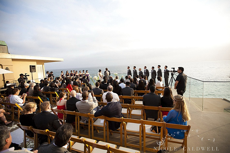 weddings surf and sand resort laguna beach photo by Nicole caldwell Studio 00866