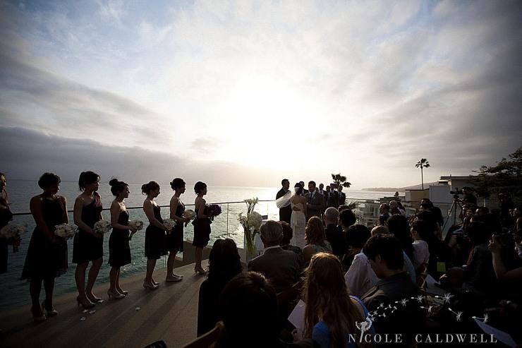 weddings surf and sand resort laguna beach photo by Nicole caldwell Studio 00869