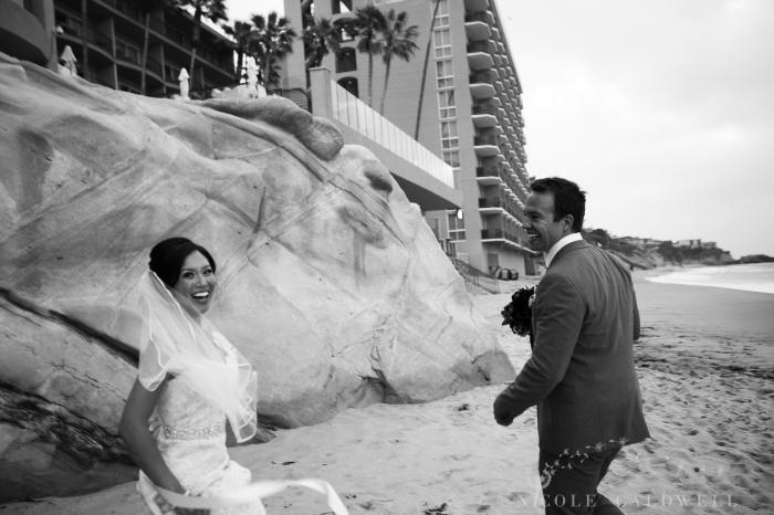weddings surf and sand resort laguna beach photo by Nicole caldwell Studio 00885