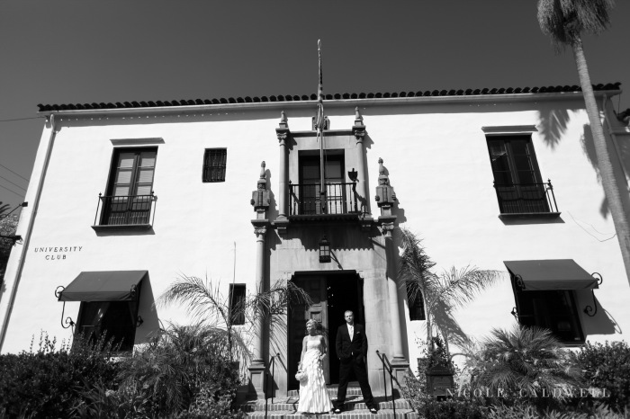 santa barbara wedding university club by Nicole Caldwell1152
