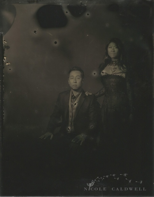 tintype engagement photos steam punk nicole caldwell 01