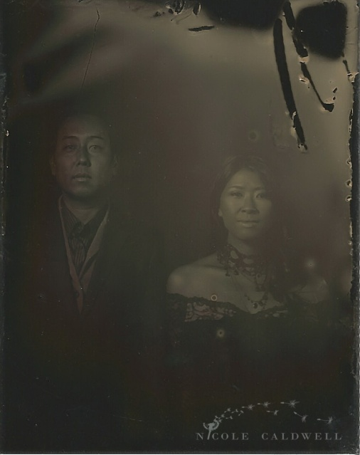 tintype engagement photos steam punk nicole caldwell 04