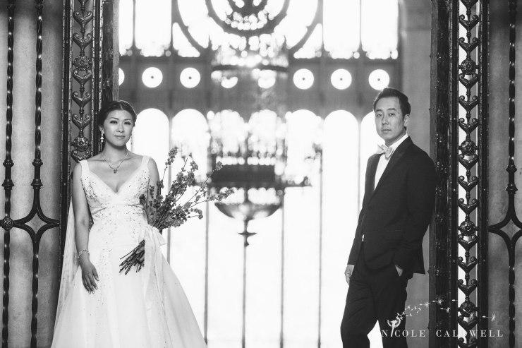 bride and groom The MacArthur weddings formerly legendary-park-plaza-hotel- photographer