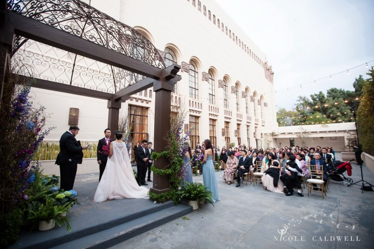 oustide ceremony The MacArthur weddings formerly legendary-park-plaza-hotel- photographer
