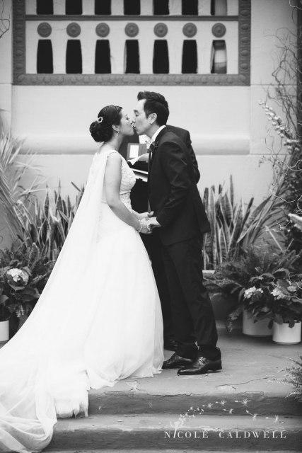 ceremony kiiss The MacArthur weddings formerly legendary-park-plaza-hotel- photographer