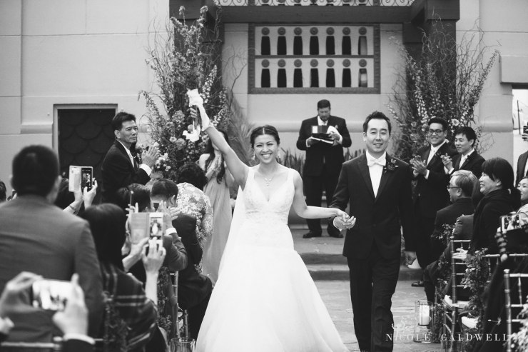 ceremony outside courtyard The MacArthur weddings formerly legendary-park-plaza-hotel- photographer