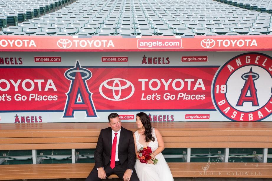 angels stadium of anaheim wedding venue 60