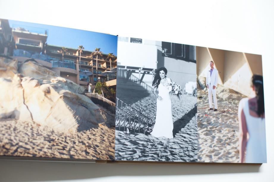 surf and sand elopement wedding album nicole caldwell 07 laguna beach