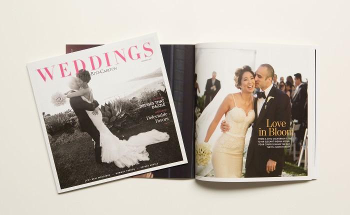 nicole caldwell weddings cover rtiza carlton magazine