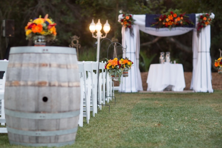 temecula creek inn weddings nightime ceremony jewish 21