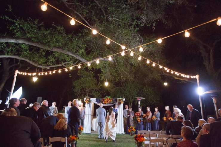 temecula creek inn weddings nightime ceremony jewish 45