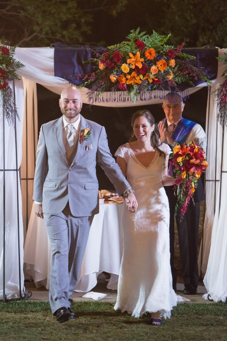 temecula creek inn weddings nightime ceremony jewish 50