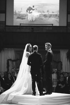 ceremony vibiana wedding los angeles