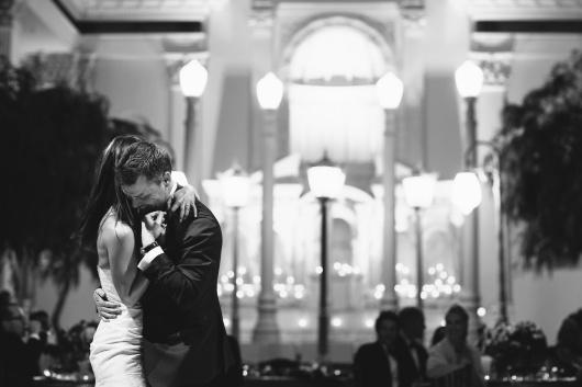 first dance vibiana los angeles wedding venue