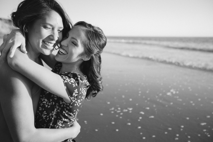 engagement same sex photos beach and studio 12