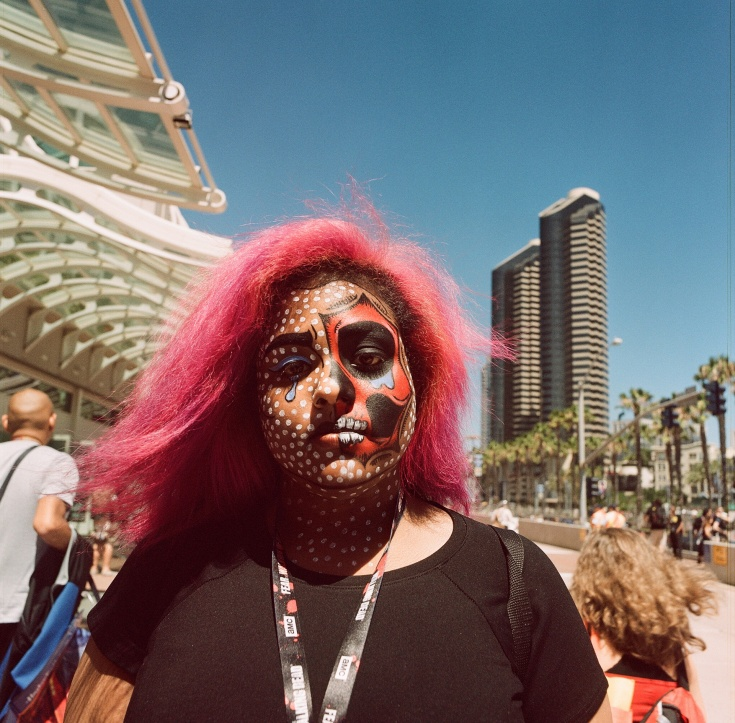 comic con 2016 san diego hasselblad filmRollei Digibase CN200 nicole caldwell photo12