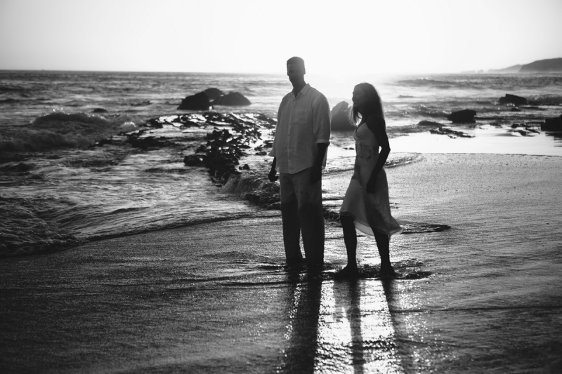 trash the dress 10 year anniversarty shoot laguna beach crystal cove state beach by nicole caldwell 01