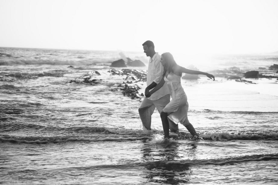 trash the dress 10 year anniversarty shoot laguna beach crystal cove state beach by nicole caldwell 03