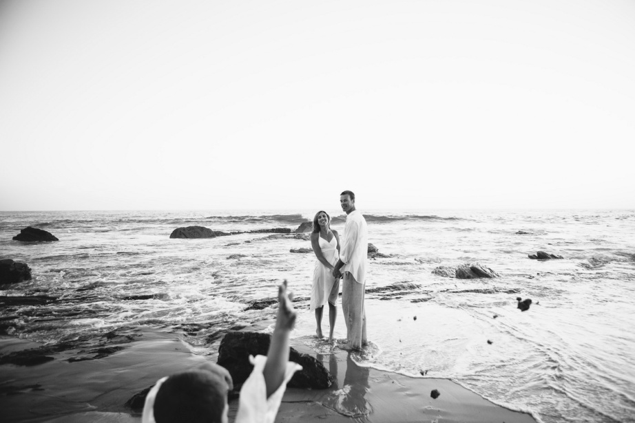 trash the dress 10 year anniversarty shoot laguna beach crystal cove state beach by nicole caldwell 10