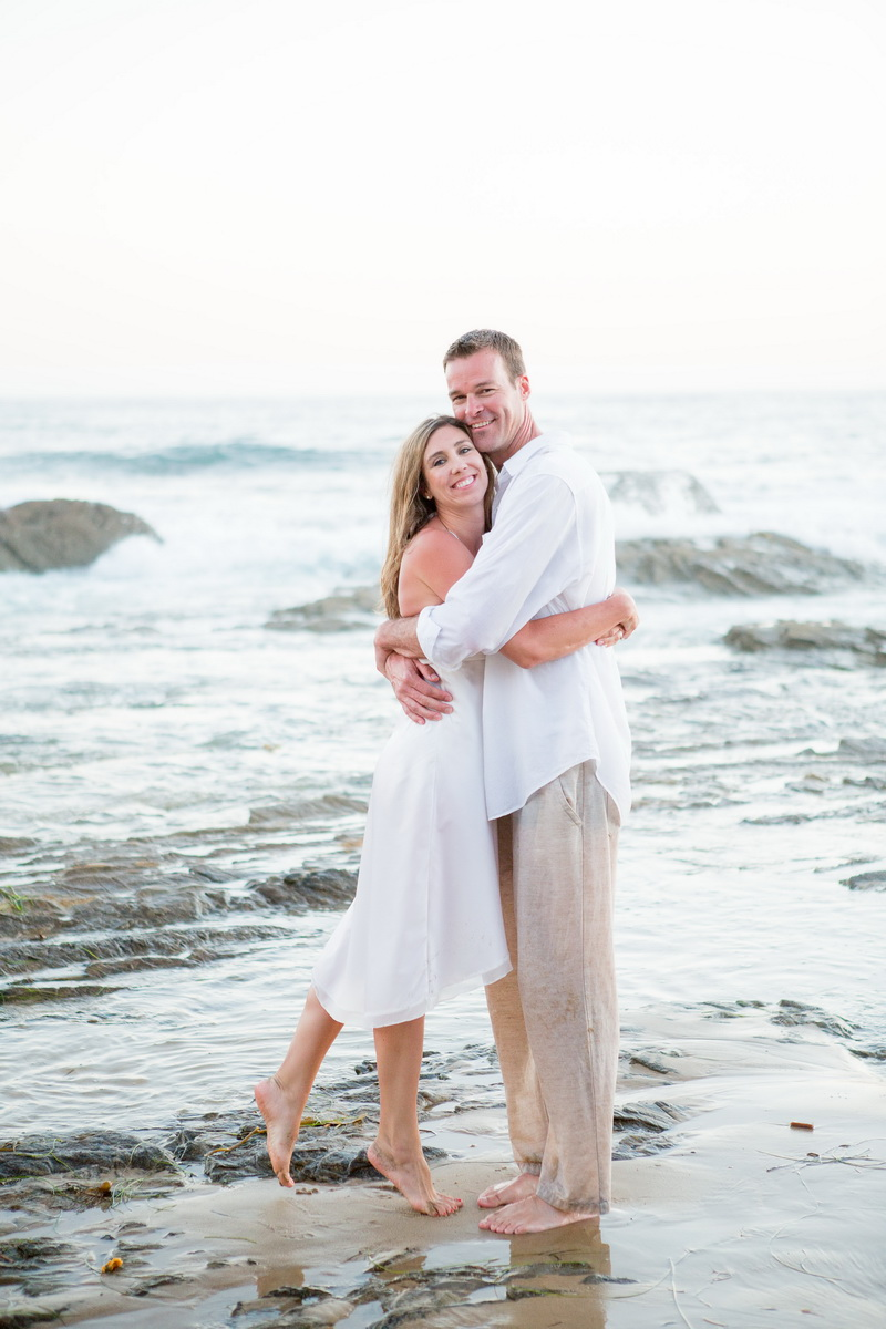 trash the dress 10 year anniversarty shoot laguna beach crystal cove state beach by nicole caldwell 11