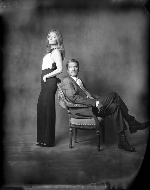 engagement studio photography new 55 film nicole caldwell