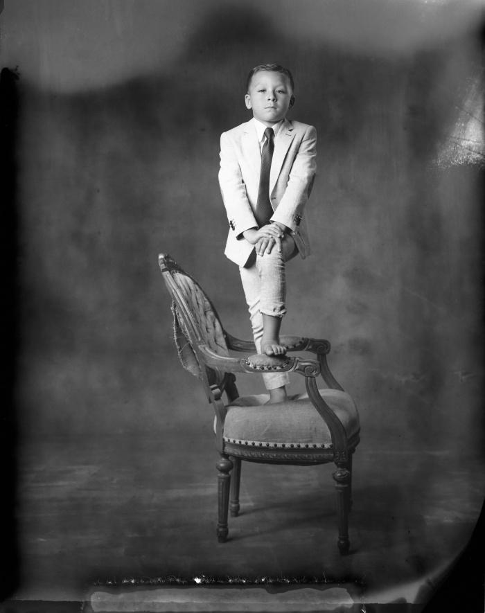 new 55 film portrait of child