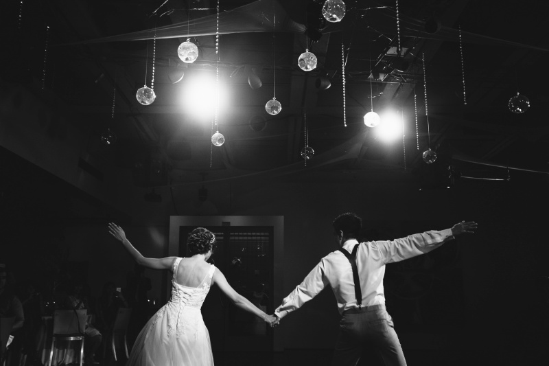 seven degrees wedding laguna beach photographer nicole caldwell reception first dance